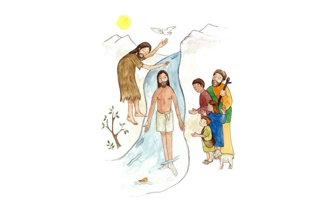 En la fiesta del Bautismo del Señor